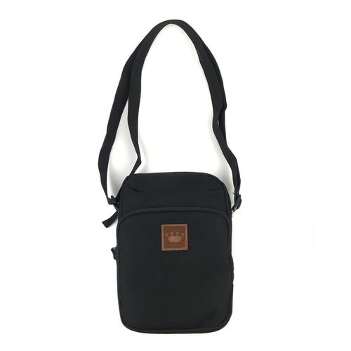 Prime Delux Shoulder Pack - Black / Brown - Prime Delux Store