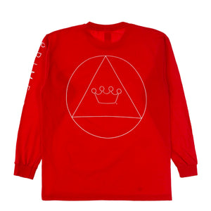 Prime Delux Unity Long Sleeve Kids T Shirt - Red / White - Prime Delux Store