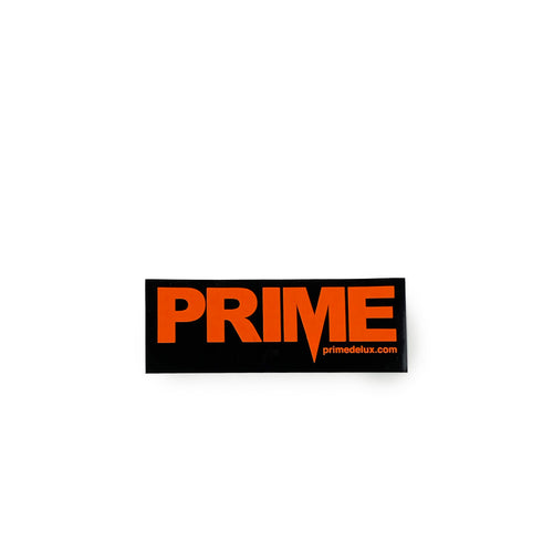 Prime Delux OG Sticker M - Neon Orange / Black - Prime Delux Store