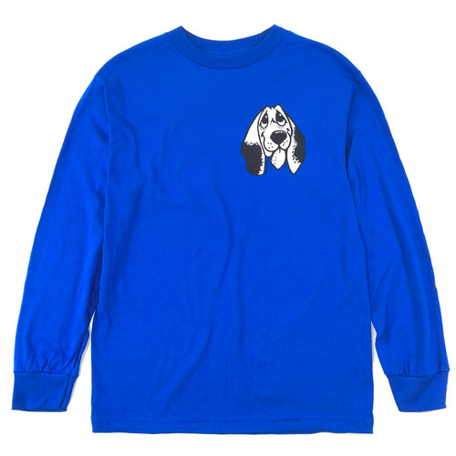Quasi Happiness Long Sleeve T Shirt - Royal - Prime Delux Store