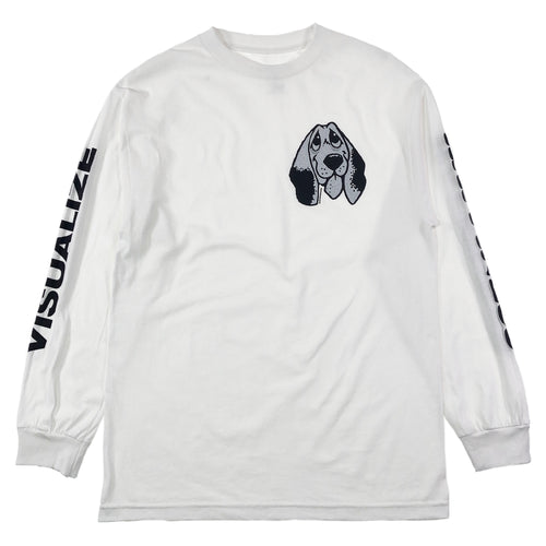 Quasi Happiness Long Sleeve T Shirt - White - Prime Delux Store