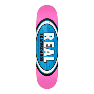 Real Skateboards Stella Am Edition Oval FULL 8.06 - Blue / Pink - Prime Delux Store