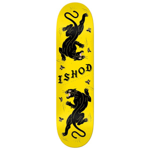 "Real Ishod Cat-Scratch Twin Tail Deck Yellow 8"" - Prime Delux Store"