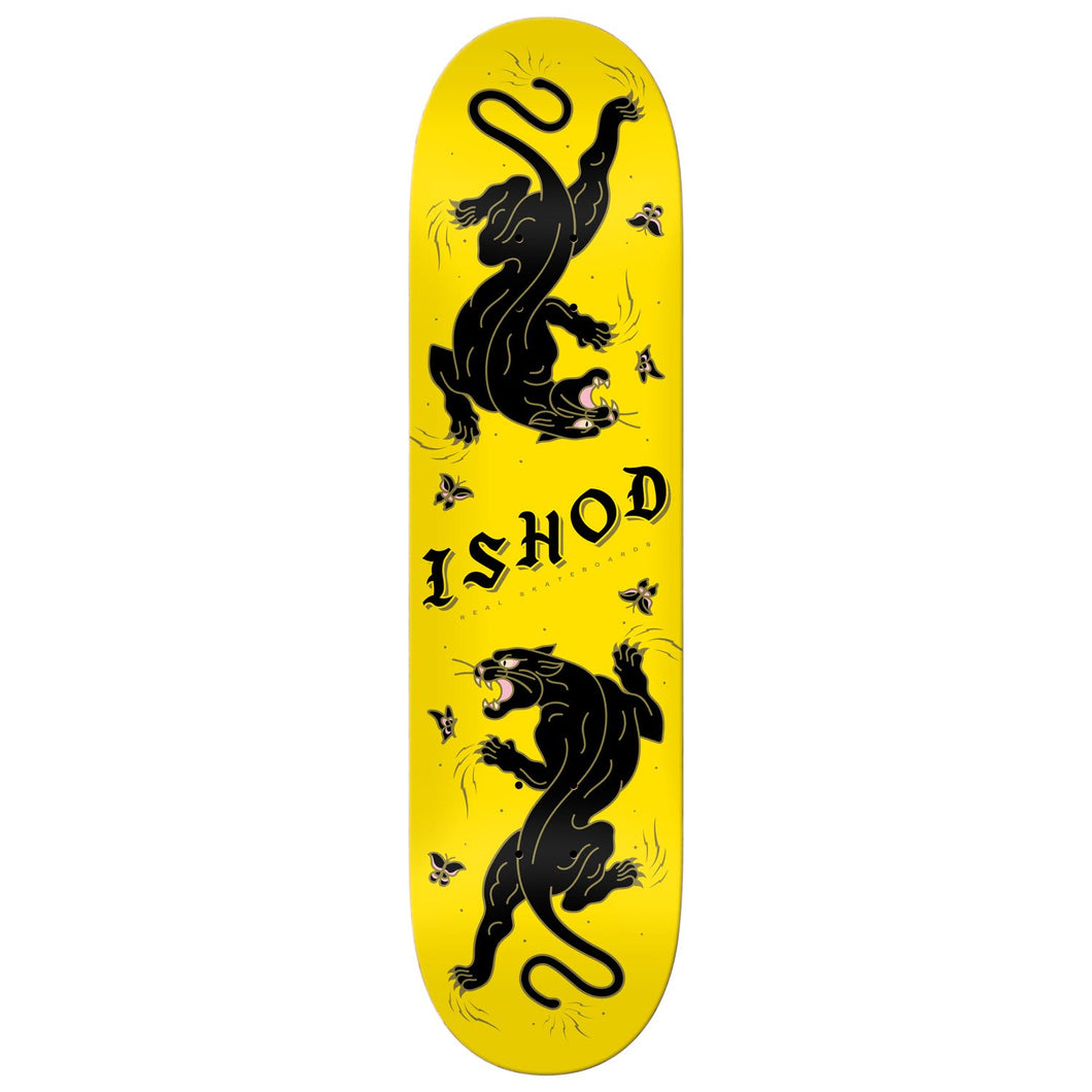 Real Ishod Cat-Scratch Twin Tail Deck Yellow 8