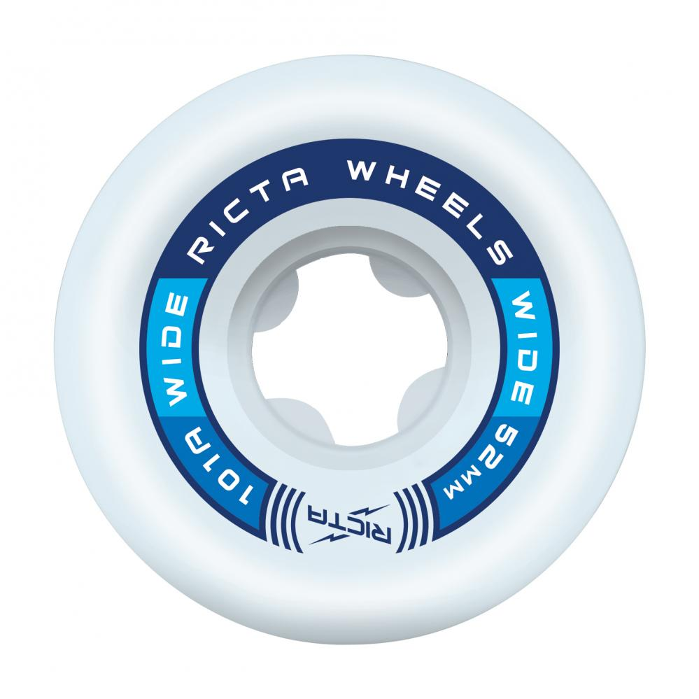 Ricta Wheels Rapido Wide 101a White 52mm - Prime Delux Store