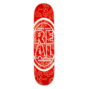 "Real Renewal Edition Deck Red 7.75"" - Prime Delux Store"