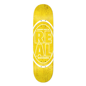 "Real Renewal Edition Deck Yellow 7.56"" - Prime Delux Store"