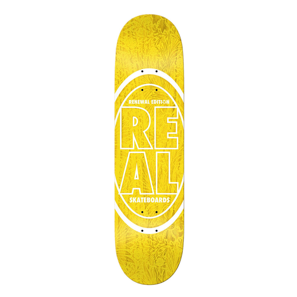 Real Renewal Edition Deck Yellow 7.56