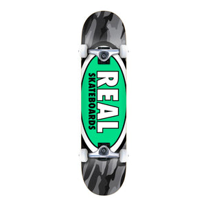 "Real Skateboards 8.25"" Team Tropic Oval Camo XI Complete Skateboard - Prime Delux Store"