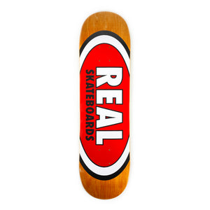 "Load image into Gallery viewer, Real Skateboards Herman Am Edition Oval 8.5"" - Red / Orange - Prime Delux Store"
