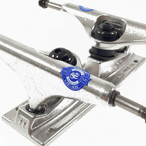 Royal Skateboard Truck with Inverted Kingpin - Raw Silver - (Sold as a pair) - Prime Delux Store