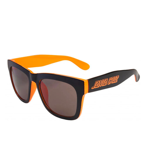 Santa Cruz Dazed Sunglasses - Black/Fluro Orange - Prime Delux Store