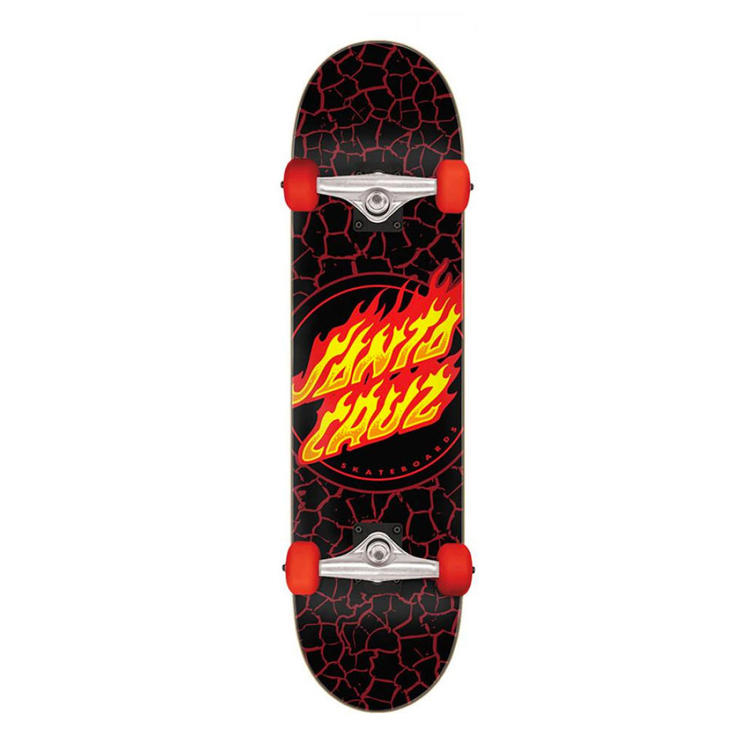 Santa Cruz Flame Dot Complete Skateboard 8.00