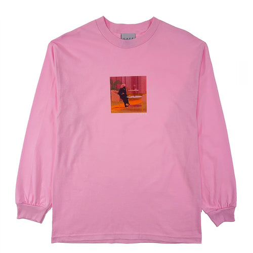 Skateboard Cafe - Unexpected Beauty Long Sleeve T Shirt - Pink - Prime Delux Store