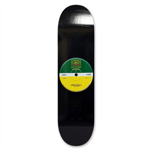 "Skateboard Cafe - 7.75"" - ""45"" Deck Green/Yellow - Prime Delux Store"