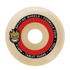Spitfire Formula Four Wheels Tablet 53mm - Natural - Prime Delux Store