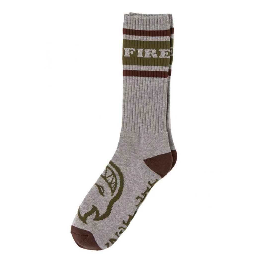 Spitfire Socks Og - Classic Heather Grey / Brown / D.Army - Prime Delux Store