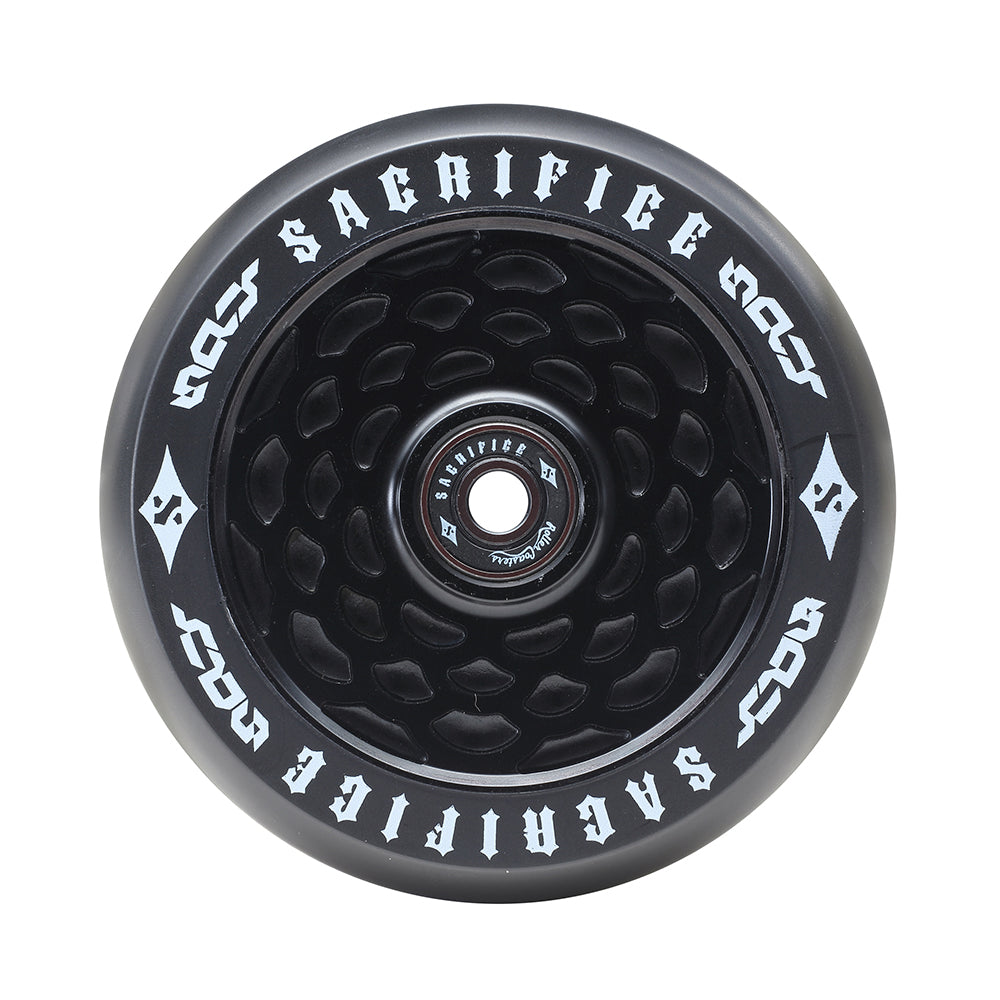 Sacrifice Spy Wheels 110mm - Black / Black  (x 2 / Sold as a pair) - Prime Delux Store