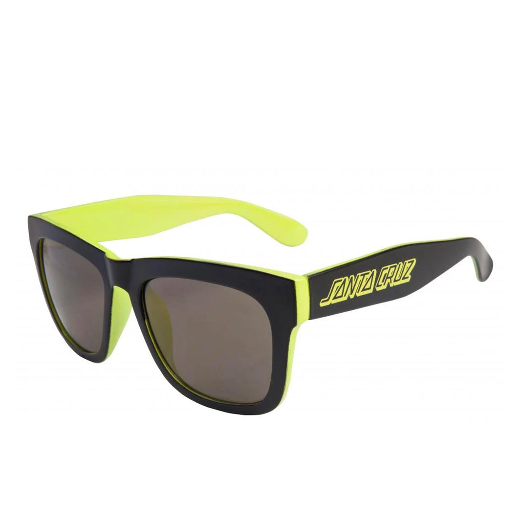 Santa Cruz Dazed Sunglasses - Black / Safety Green - Prime Delux Store