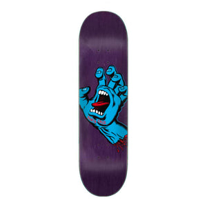 "Santa Cruz Deck Screaming Hand 8.38"" - multi - Prime Delux Store"