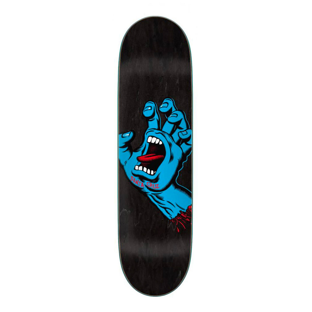 Santa Cruz Deck Screaming Hand Black - 8.60