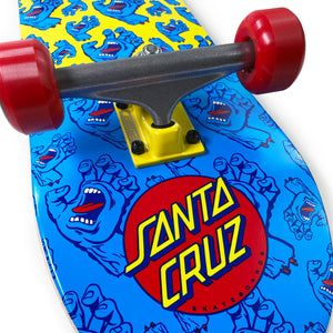 "Load image into Gallery viewer, Santa Cruz Hands Allover Complete Skateboard 7.8"" - Multi - Prime Delux Store"