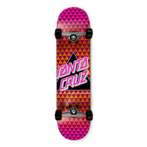 Load image into Gallery viewer, Santa Cruz Not a Dot Complete Skateboard 7.5 - Pink - Prime Delux Store