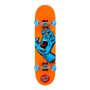 "Load image into Gallery viewer, Santa Cruz Complete Mid Screaming Hand 7.8"" - Orange / Blue - Prime Delux Store"
