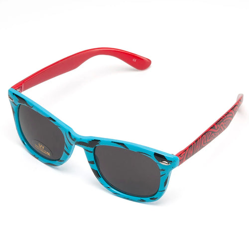 Santa Cruz Screaming Hand Sunglasses - Blue / Red - Prime Delux Store