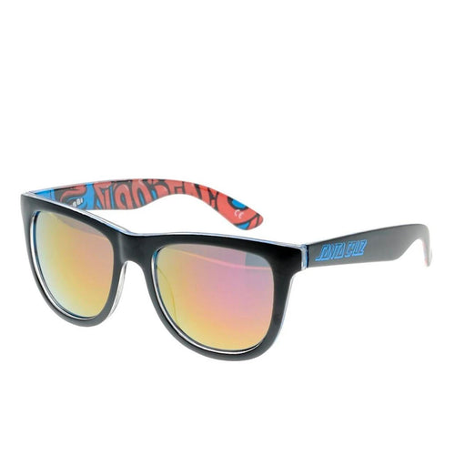 Santa Cruz Screaming Insider Sunglasses - Black / Blue - Prime Delux Store