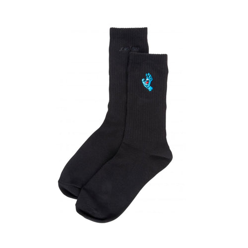 Santa Cruz Socks Screaming Mini Hand Sock - Black - Prime Delux Store