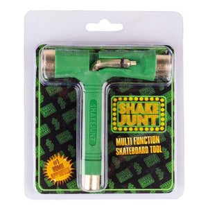 Load image into Gallery viewer, Shake Junt Skate Tool Green / Gold - Prime Delux Store