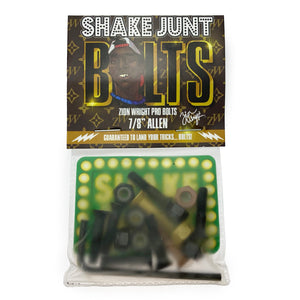 "Load image into Gallery viewer, Shake Junt Zion Wright Allen Bolts - 7/8"" - Prime Delux Store"