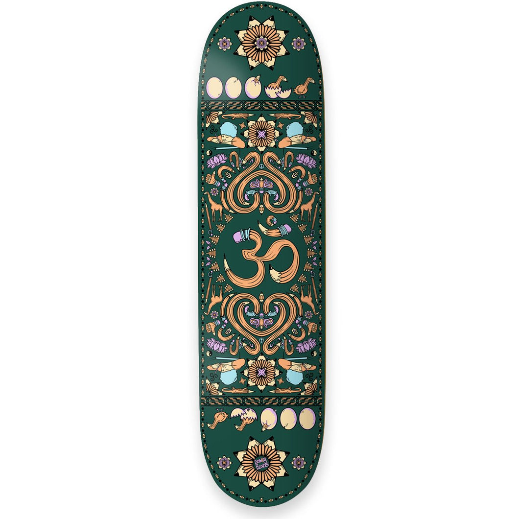 The Drawing Boards Positive Symbols OM Skateboard Deck- 8.375 - Prime Delux Store