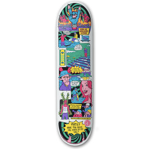 "The Drawing Boards - 8.25"" - Expel your Skate-Related Demons - Skateboard Deck - Prime Delux Store"