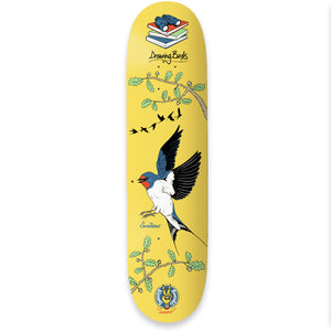 "The Drawing Boards - 8.25"" - Seasonal Birds - Swallow Deck - Prime Delux Store"