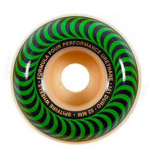 Spitfire - 52mm - Formula Four Wheels Classics - Green / Natural - Prime Delux Store