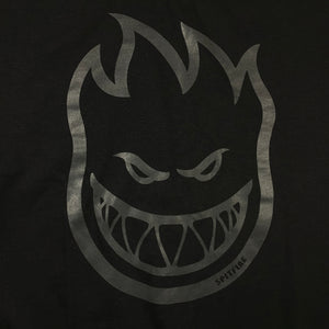 Load image into Gallery viewer, Spitfire Bighead Blackout T Shirt - Black / Black - Prime Delux Store