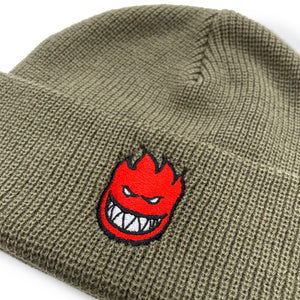 Load image into Gallery viewer, Spitfire Bighead Fill Cuff Beanie - Khaki - Prime Delux Store