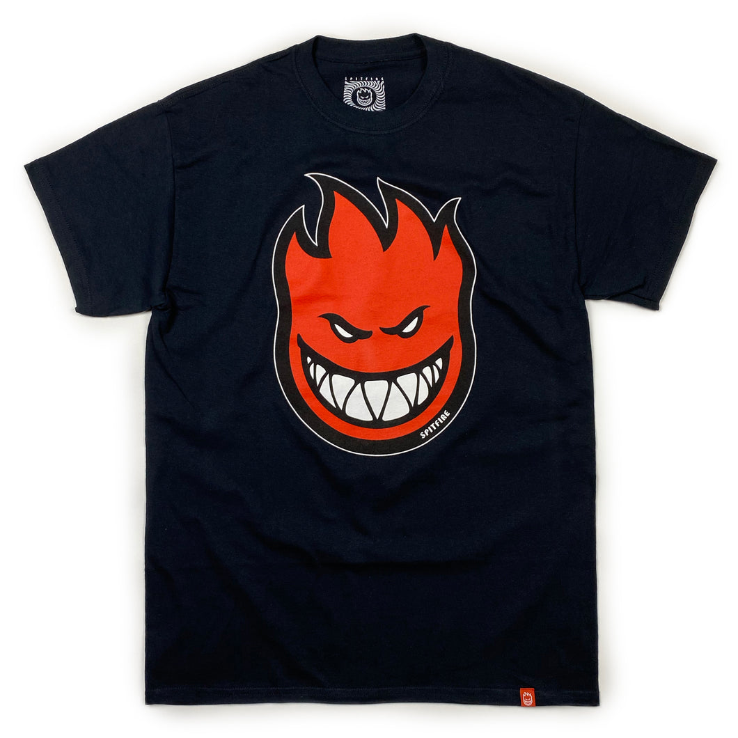 Spitfire Bighead Fill T Shirt - Black / Red - Prime Delux Store