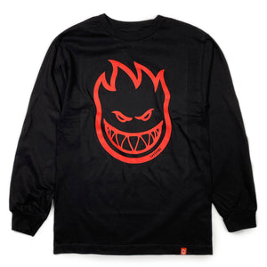 Load image into Gallery viewer, Spitfire Bighead Long Sleeve T - Black / Red - Prime Delux Store