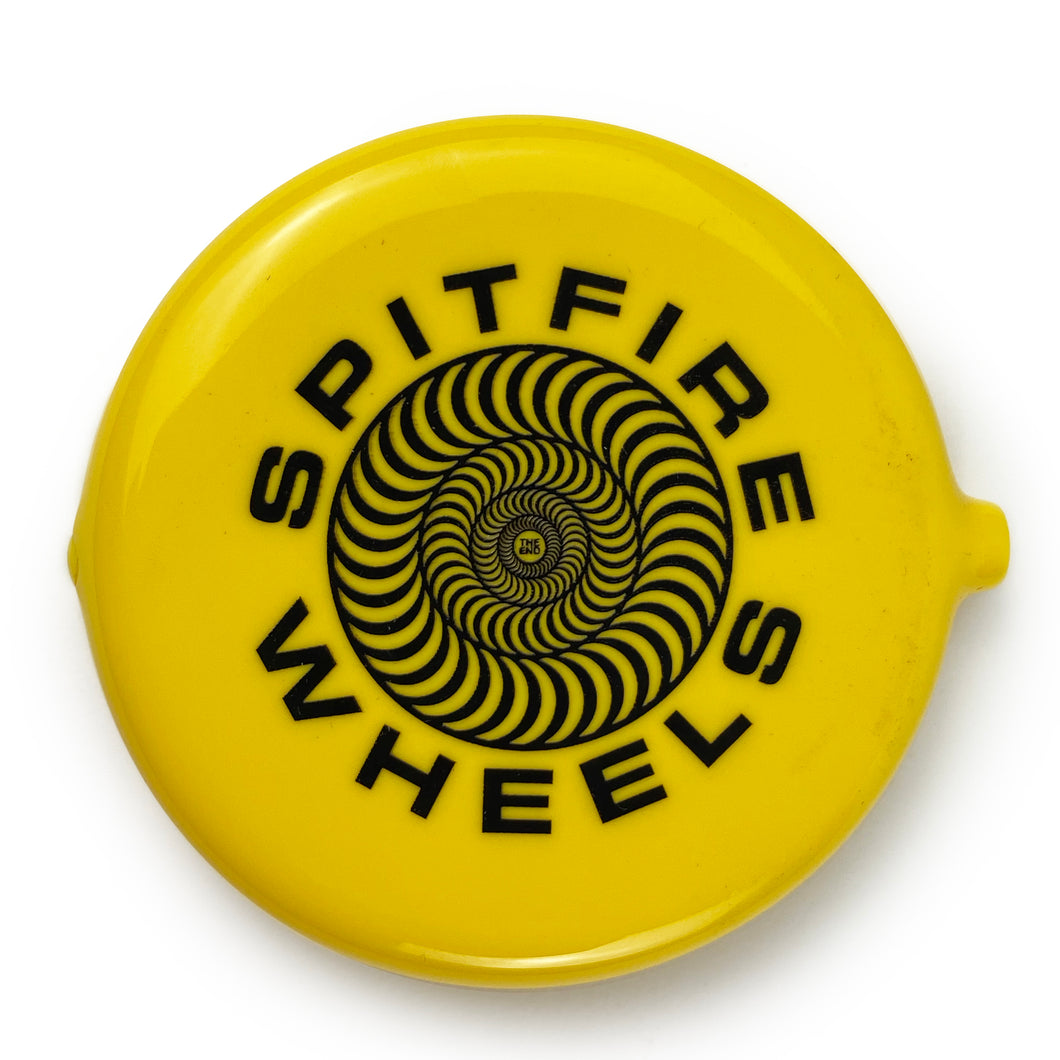 Spitfire Classic 87' Swirl Coin Pouch - Yellow / Black - Prime Delux Store