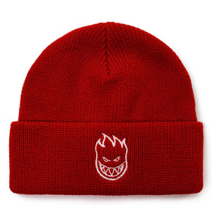 Load image into Gallery viewer, Spitfire Bighead Cuff Beanie - Red / White - Prime Delux Store