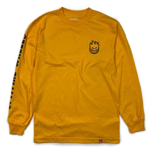Spitfire Lil Bighead Hombre Long Sleeve T - Gold - Prime Delux Store