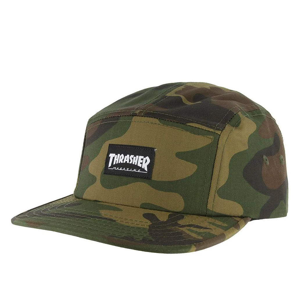Thrasher 5 Panel Cap Camoflage - Prime Delux Store