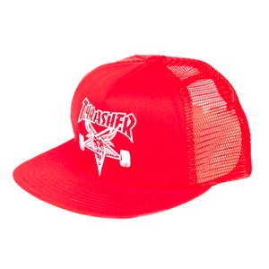 Thrasher Embroidered Skategoat Mesh Cap Red / White - Prime Delux Store