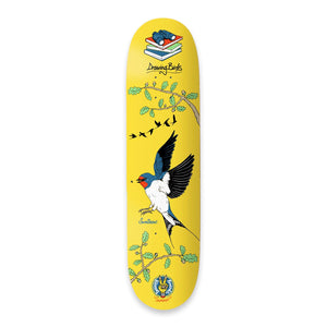 "The Drawing Boards - 8.0"" - Seasonal Birds - Swallow Deck - Prime Delux Store"