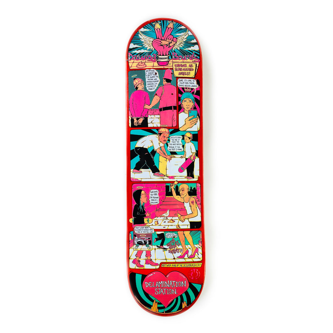 The Drawing Boards Deck - Empower your Skate-Related Angels - 8