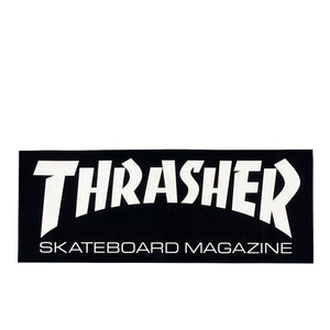 Thrasher Magazine Sticker L - Black / White - Prime Delux Store