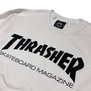 Load image into Gallery viewer, Thrasher Skate Mag Logo Long Sleeve T Shirt - White - Prime Delux Store